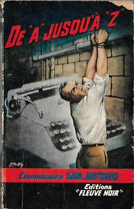 De A jusqu'à Z San-Antonio - Edition originale SP 273 - 1961