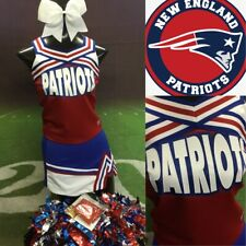 Real Cheerleading Uniform New England Patriots Youth L