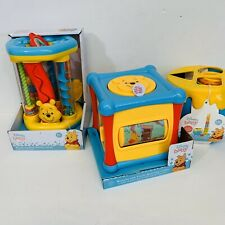 Disney Baby Winnie The Pooh Toy Lot 6+ Months NEW