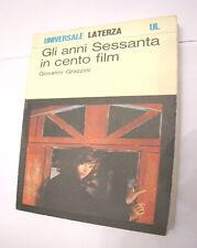 Giovanni Grazzini Gli anni sessanta in cento film Laterza 1978 nuovo cinema 399