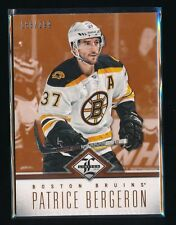 PATRICE BERGERON 2012-13 LIMITED #77 166/299 BOSTON BRUINS