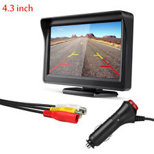 4.3'' HD 800*480 TFT LCD Screen Monitor for Car Rear View Reverse Backup Camera