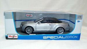 Brand NEW Maisto Bentley Continental Supersports Convertible ISR Special Edition