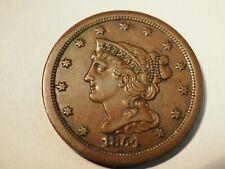 1854 Half Cent - 1/2 C - #237