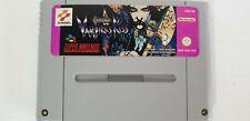 Castelvania Vampire Kiss Super Nintendo Snes