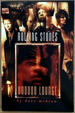 Rolling Stones Voodoo Lounge Marvel Comics 1995 Book Dave McKean Graphic Novel