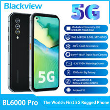 Blackview BL6000 Pro 5G Unlocked Rugged Smartphone 8GB+256GB 48MP 6.36