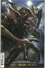 New listing Justice League Dark #14! Clayton Crain Manbat Variant Cover! Nm!