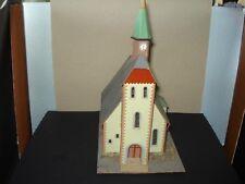 Auhagen/DDR , alte Kirche , Pappe,  aus Sammlungsauflösung, sehr guter Zustand