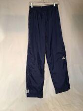 Vintage 90s 1990s Adidas Blue White Nylon Swish Training Pants Men Size Medium