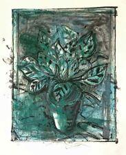 "Jim Dine ""The Jerusalem Plant #8"" Original Lithograph Etching S/N"