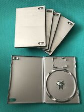 5x  Platinum Grey/ Silver -PS2 Empty Replacement Blank Official Game Cases