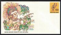 Papua NG East Highlands Province Pre-stamped Envelope PSE #11