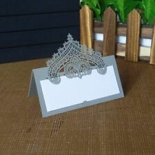 Openwork Flowers Table Card Wedding Romantic Invitation Cards Party Supplies New