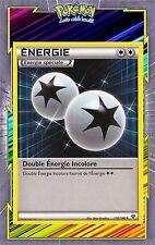 Double Energie Incolore-XY:Noir et Blanc-130/146-Carte Pokemon Neuve Française
