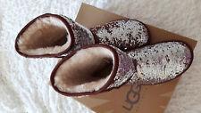 Boots von UGG, Gr. 40, classic short sparkles