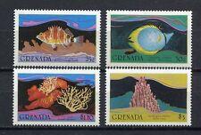 25445) GRENADA 1985 MNH** Nuovi** Fishes Pesci  4v