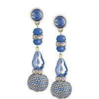Orecchini donna Braccialini Jewellery JBR1000/01 Originali pendenti pietre blu