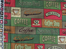 Coffee Shop Angela Anderson quilt sew fabric 74270 G