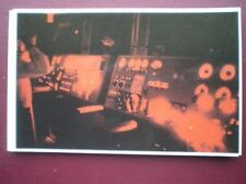 POSTCARD RP HMS INVINCIBLE - THE BRIDGE BY NIGHT  FALKLAND TASK FORCE