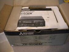 Mitsubishi Car Cassette Tape Player w/ FM MPX Radio RX-103EM
