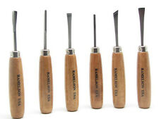 Ramelson Beginners Wood Carving Hand Chisel Set Kit 6pc Gunsmith Tools 116