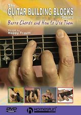 Guitar Building Blocks Barre Chords How To Use Them Learn to Play Music DVD