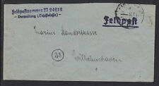 Germany, 1941 Destroyer Z24 Feldpost Cover