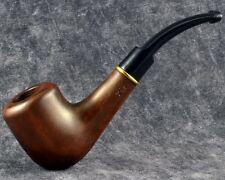 """Carved tobacco smoking pipe for 9mm 