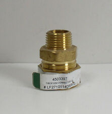"JMF 4503397 Lead Free Brass Compression Connector 7/8"" Comp x 1/2"" MPT"