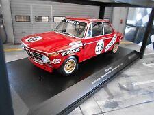 BMW 2002 Jockey Racing #33 Nurburgring 1972 tobiasson Nordström MINICHAMPS 1:18