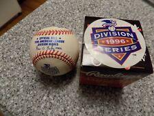 1996 American League Division Series baseball-new in box