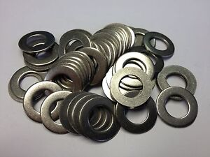 QTY 100 M3 (3.2mm x 7.0 x 0.5 approx) GRADE A2 STAINLESS STEEL A FLAT WASHERS
