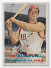 Ted Kluszewski 1957 Topps  #165