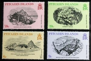 Pitcairn Island – 1979 Engravings – UM (MNH) (R8)