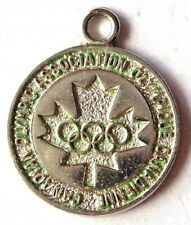 Canadian Olympic Association     vintage sterling silver charm