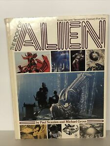 The Book Of Alien by Paul Scanlon & Michael Gross H R Giger 20th Century Fox
