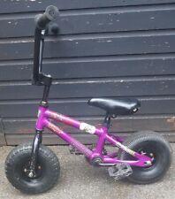 Venom púrpura Rocker Mini Rocker Mini Púrpura Bicicleta BMX Negro Raro Entrega Gratis