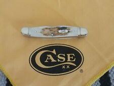 CASE XX SELECT- LARGE MUSKRAT- ELK HORN HANDLES - 1 OF 500 - FLUTED - MADE 2008