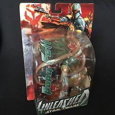 """Star Wars Boba Fett Hasbro Unleashed 10"""" acción figura 2003 en caja de venta de Reino Unido"""