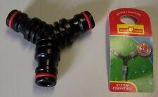 LUPO Garden Hose ACCOPPIAMENTO 3fach tubo connettore tubo irrigazione giardino