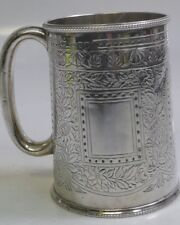 Gorgeous 1886 Mappin & Webb Sterling Silver Victorian Christening Mug