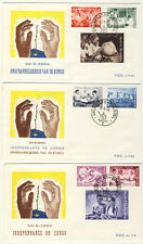 BELGIEN - 1960 - FDC Nr. 1198/05 - UNABHÄNGIGKEIT des CONGO (9140/360N)