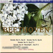 BEETHOVEN SONATAS 11-14 MARIA GRINBERG NEW CLASSICAL CD