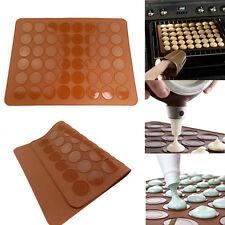 UK STOCK Macaron Macaroon Baking Mat Cake Decorating Tray Mat - 48 Cavities NEW