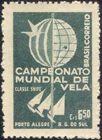 Brazil 1959 Sports/Sailing Championships/Boats/Yachts/Animation 1v (n46029)