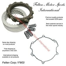 Kawasaki KX85 KX 85 KX-85 Clutch Repair Kit Discs Disks Springs Gasket 01-15