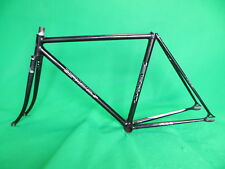 Iribe Black NJS Keirin Frame Track Bike Fixed Gear Simgle Speed 48.5cm