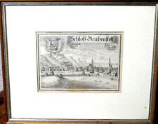 """Schöner Original alter Kupferstich """"Schloß Grabenstett"""" Chiemgau"""