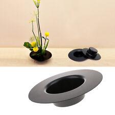 Plastic Ikebana Suiban Vase Tray Pot Bonsai Flower Container ~Hat-like